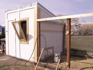 Horizontal Sliding Chicken Door